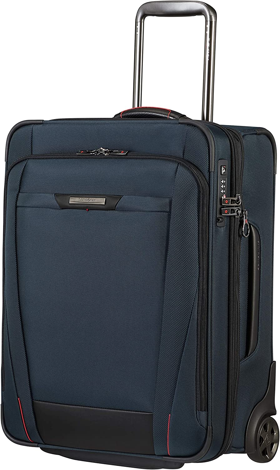 Samsonite Pro-DLX 5 - Upright S Expandible Equipaje de Mano, 55 cm, 44.5/54 L, Azul (Oxford Blue)