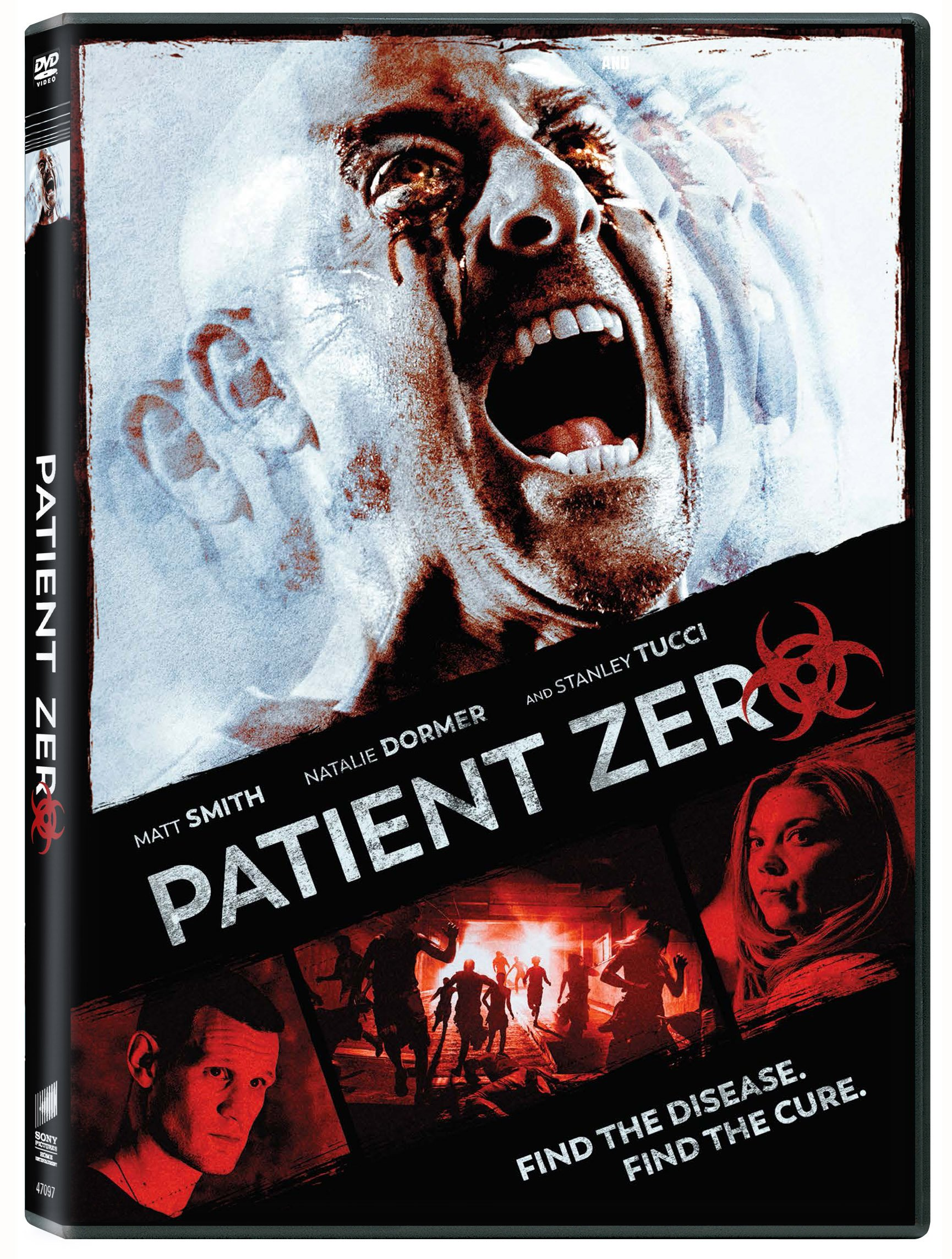 DVD : Natalie Dormer - Patient Zero (Widescreen, Dolby, AC-3, Subtitled)