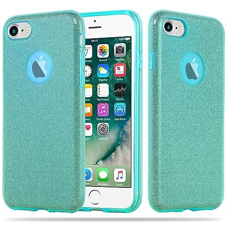 custodia silicone apple iphone 7 turchese