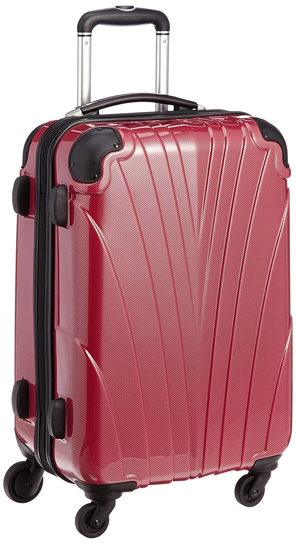 [ビバーシェ] スーツケース VH-ZC S カーボンレッド 41L 3.9kg ジッパーハードキャリー 62 cm VH-ZC-S B019GNSFQM Cレッド