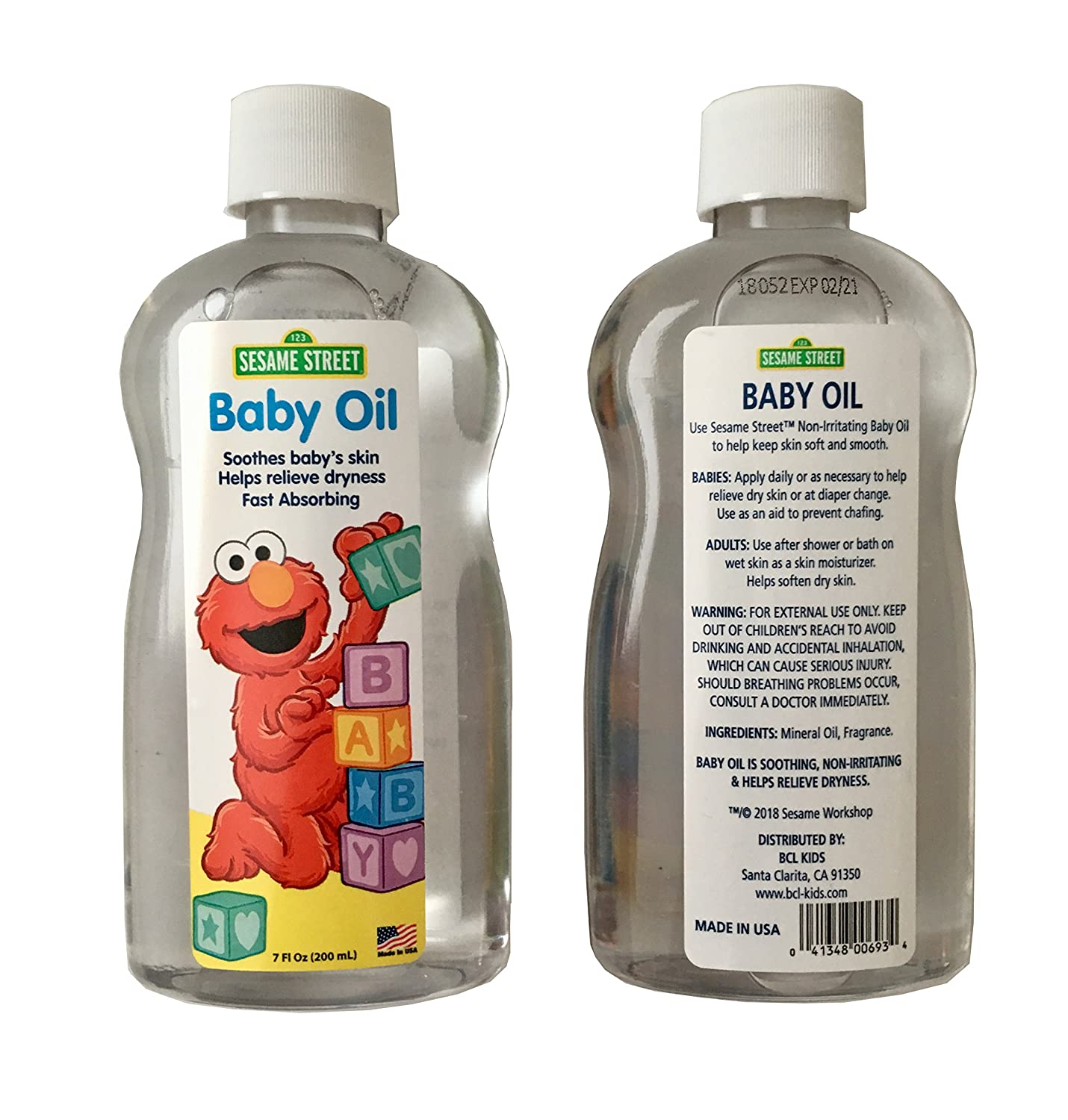 Amazon.com: Sesame Street Elmo Baby Care Set - 6 Piece Bundle Includes Baby Shampoo, Baby Wash, Baby Lotion, Baby Oil and Sesame Beginnings Brush & Comb: ...