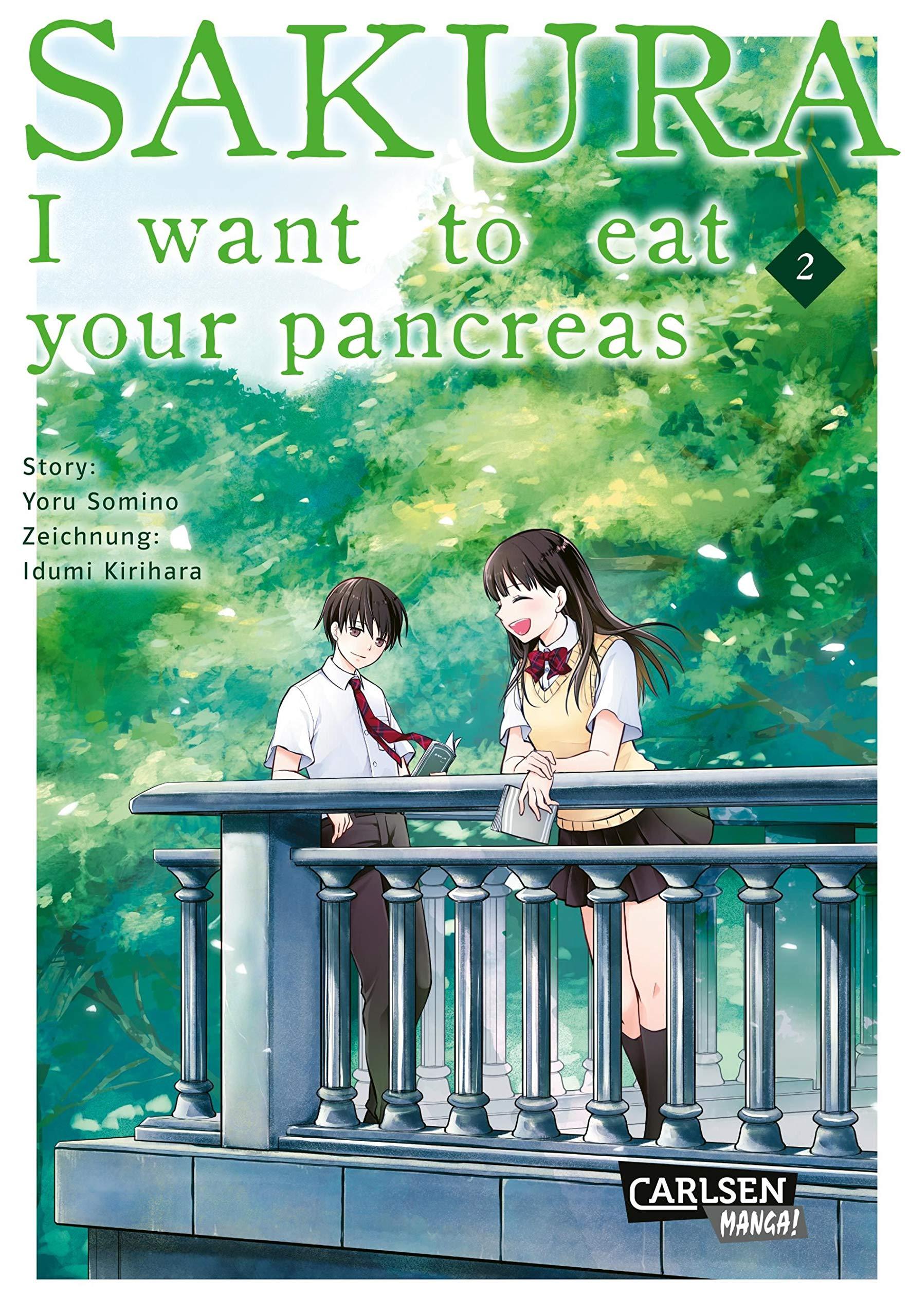 Sakura I Want To Eat Your Pancreas 2 Yoru Sumino 9783551735805