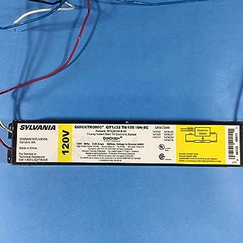 SYLVANIA QT1X32//120-IS-SC FLUORESCENT BALLAST 120V 1-LAMP 32W T8 F32T8