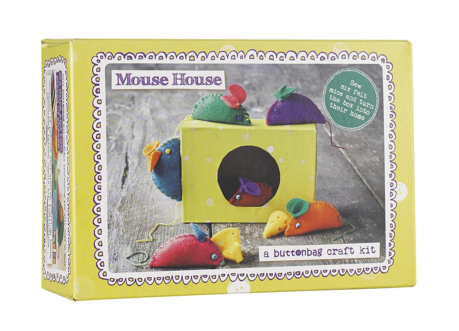 Buttonbag Mouse House Sewing Kit BBMOU