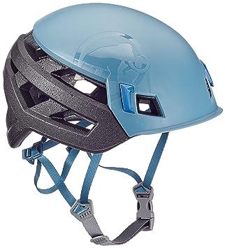 Mammut Wall Rider Casco de Escalada, Unisex Adulto, Azul (Chill), 52
