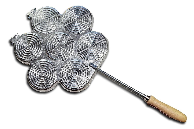 ELETTRO CENTER Art. 379–tigelle Mould, Aluminium–Silver