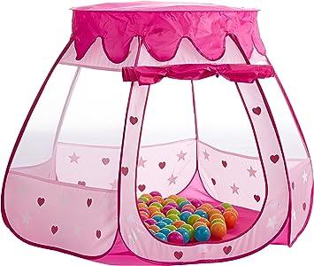 SKL Kinder Spielzelt Princess Pop Up Zelt Kinderspielzelt