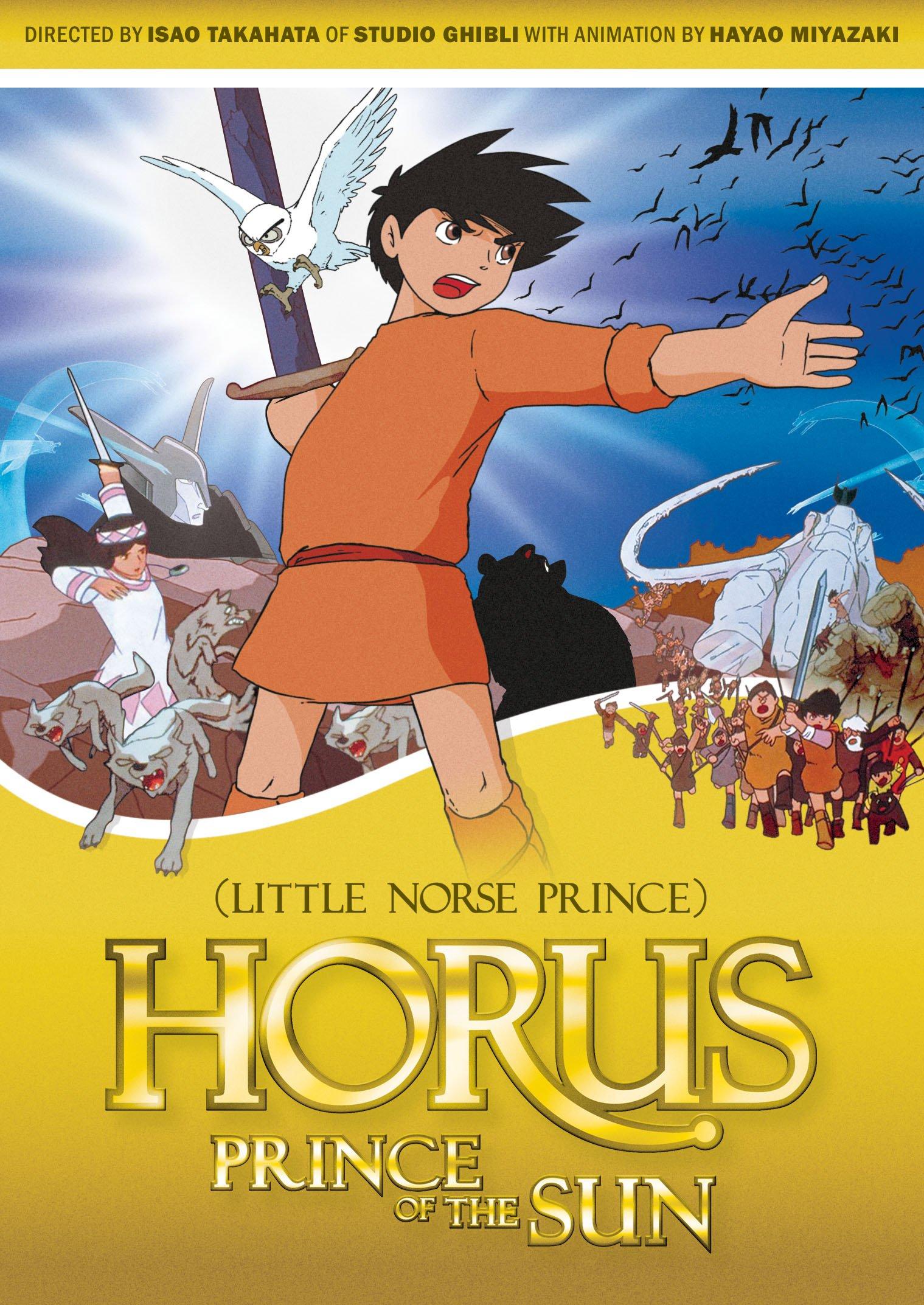 DVD : Horus, Prince of the Sun (Little Norse Prince) - Horus Prince Of The Sun (little Norse Prince) (DVD)