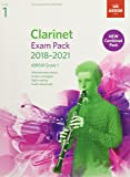 Clarinet Exam Pack 2018-2021, ABRSM Grade 1: Selected from the 2018-2021 syllabus. Score & Part, Audio Downloads, Scales & Sight-Reading