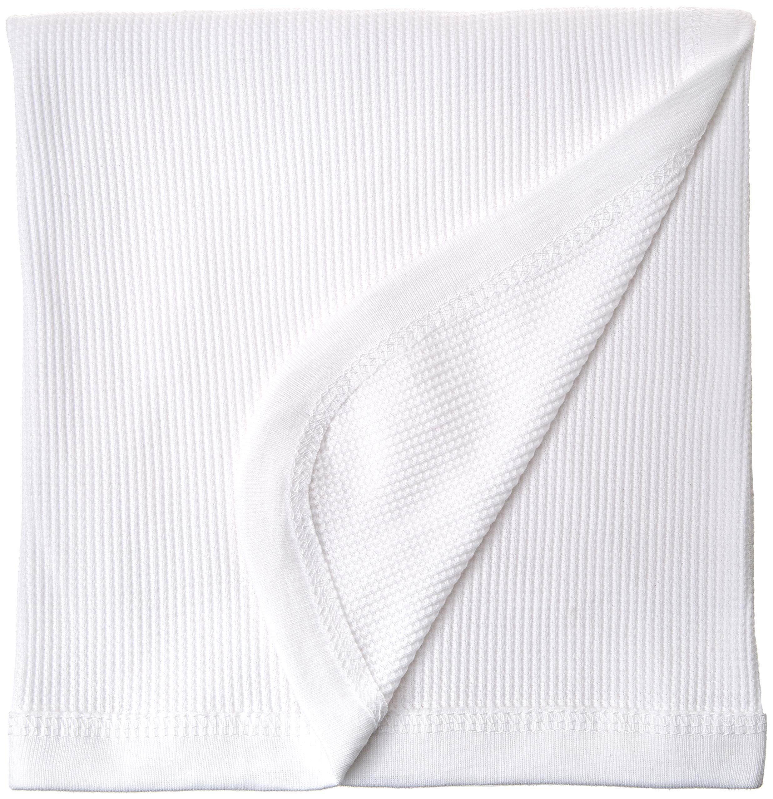 1b4619025e Bambino Basics 100% COTTON - Waffle Knit Thermal Receiving Blankets - 30