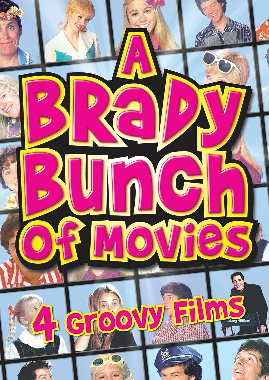 Brady Bunch Christmas Card.Amazon Com A Brady Bunch Of Movies The Brady Bunch Movie