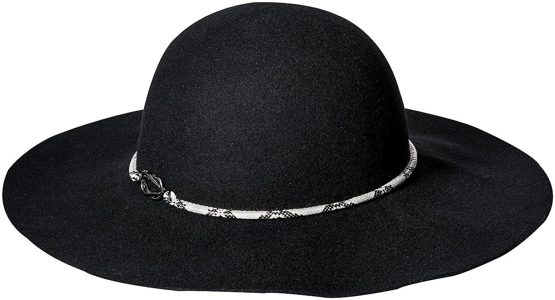 Genie by Eugenia KimレディースLana 100 %ウールFloppy Hat One Size ブラック B01K88DR8U