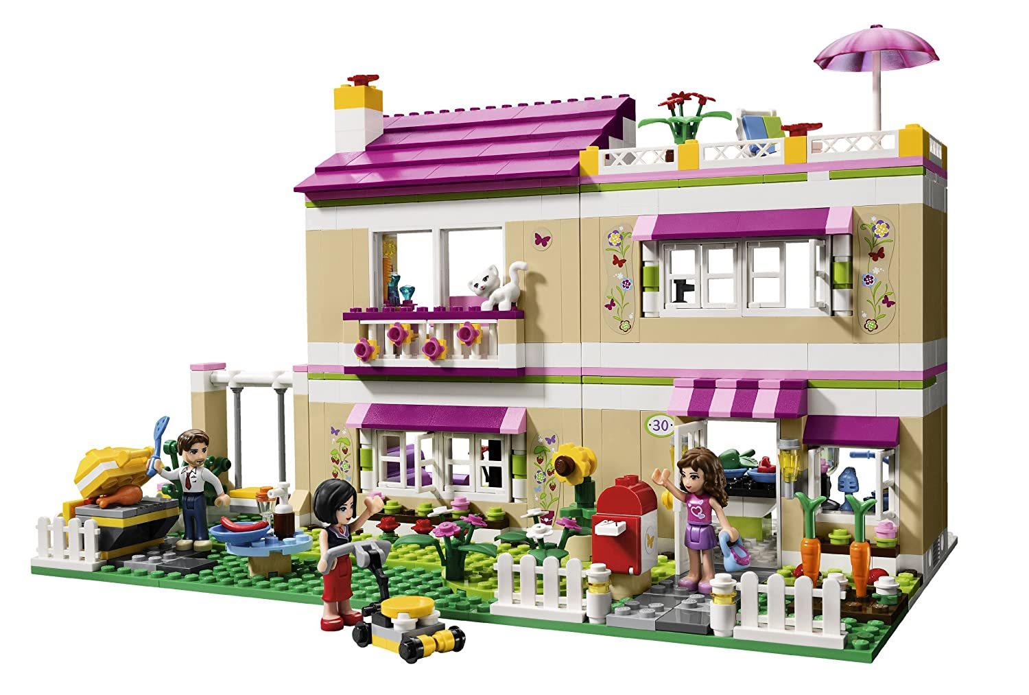 Amazon LEGO Friends Olivias House 3315 Discontinued By Manufacturer Toys Games