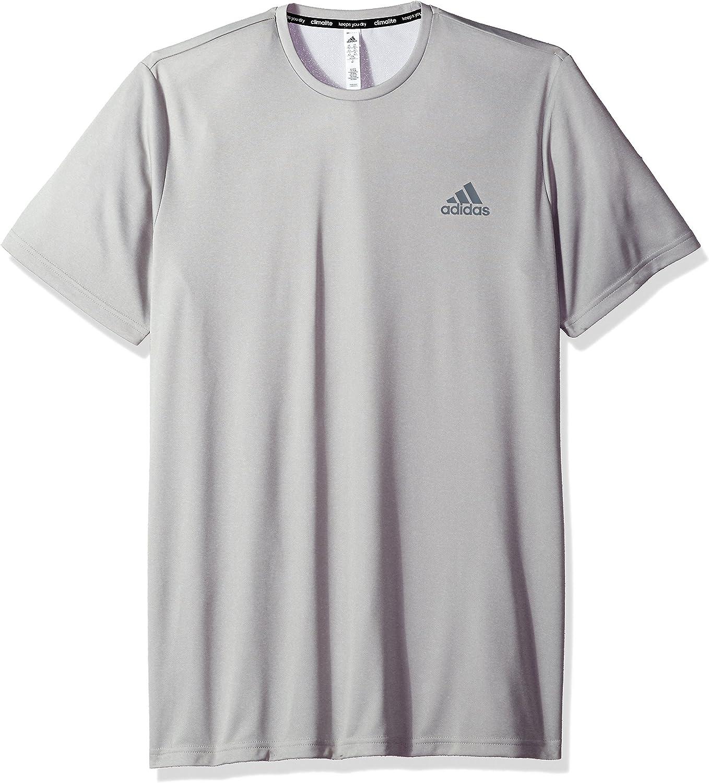 NEW adidas T-Shirt Mens Big /& Tall Essential ClimaLite Performance Tech Tee
