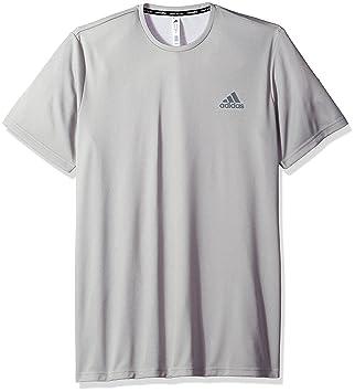 8c04a3646 adidas Men's Essentials Tech Big & Tall Tee, Medium Grey Heather, 3X-Large