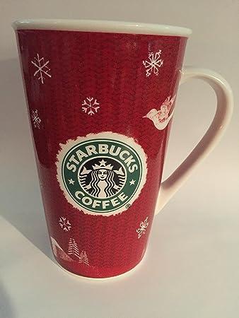 Amazon.com: Starbucks Christmas Mug Holiday Mug 2008 16 Oz ...