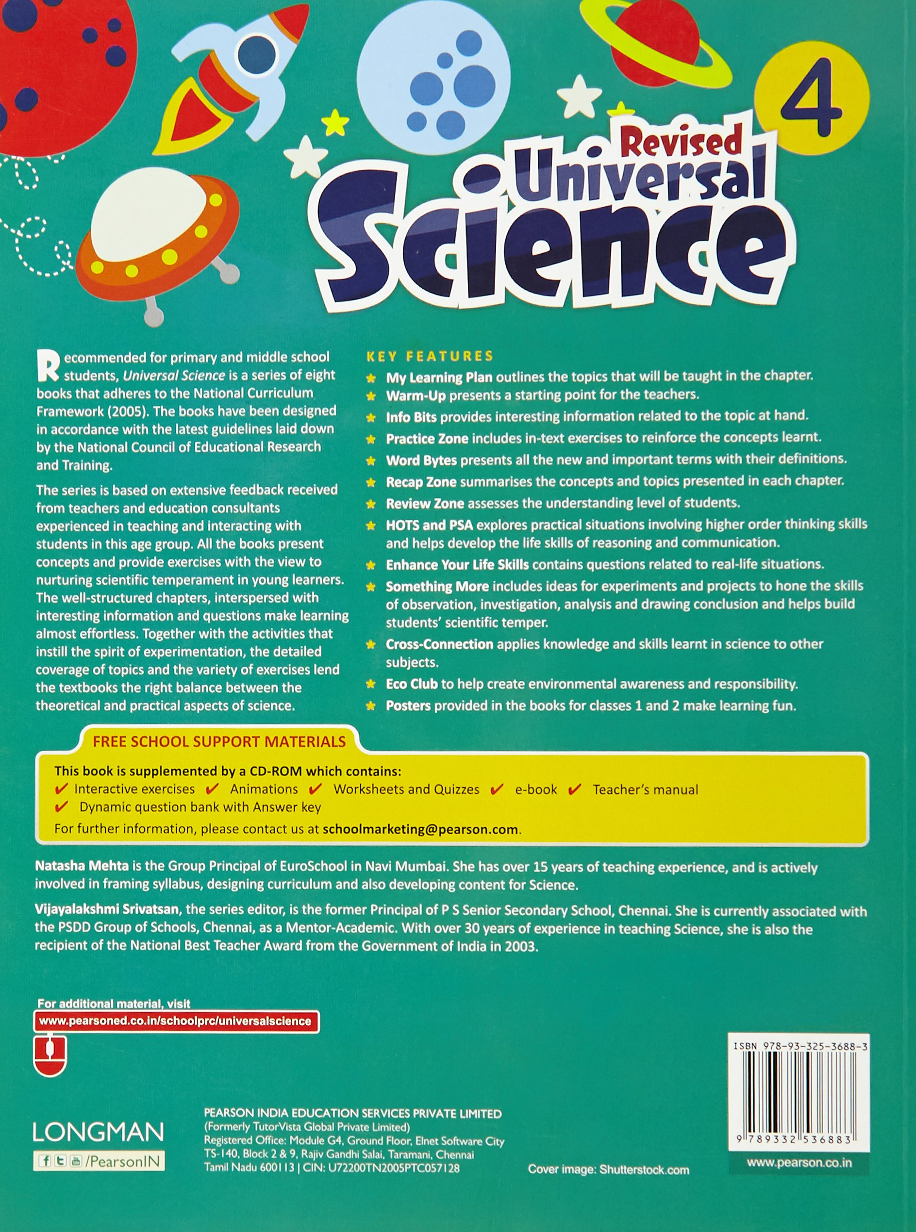 Universal Science by Pearson for CBSE Class 4: Amazon.in: Natasha ...