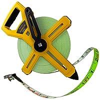 Deals on Komelon 6633 Open Reel Fiberglass Tape Measure, 300-Feet
