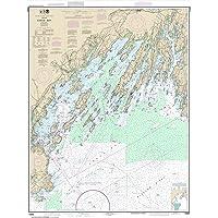 Paradise Cay Publications NOAA Chart 13290: Casco Bay
