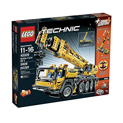 LEGO Technic 42009 Mobile Crane MK II(Discontinued by manufacturer): Toys & Games