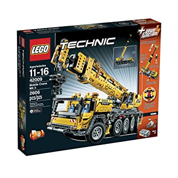 Amazon.com: LEGO Technic 42009 Mobile Crane MK II(Discontinued by ...