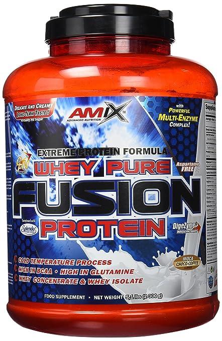 Amix Whey Pure Fusion Proteínas - 2300 gr_8594159538863: Amazon.es ...
