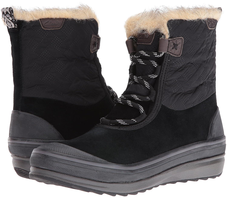 CLARKS Women's Muckers Mist US|Black Snow Boot B0195HSFE6 10 B(M) US|Black Mist Suede/Textile 3d653f