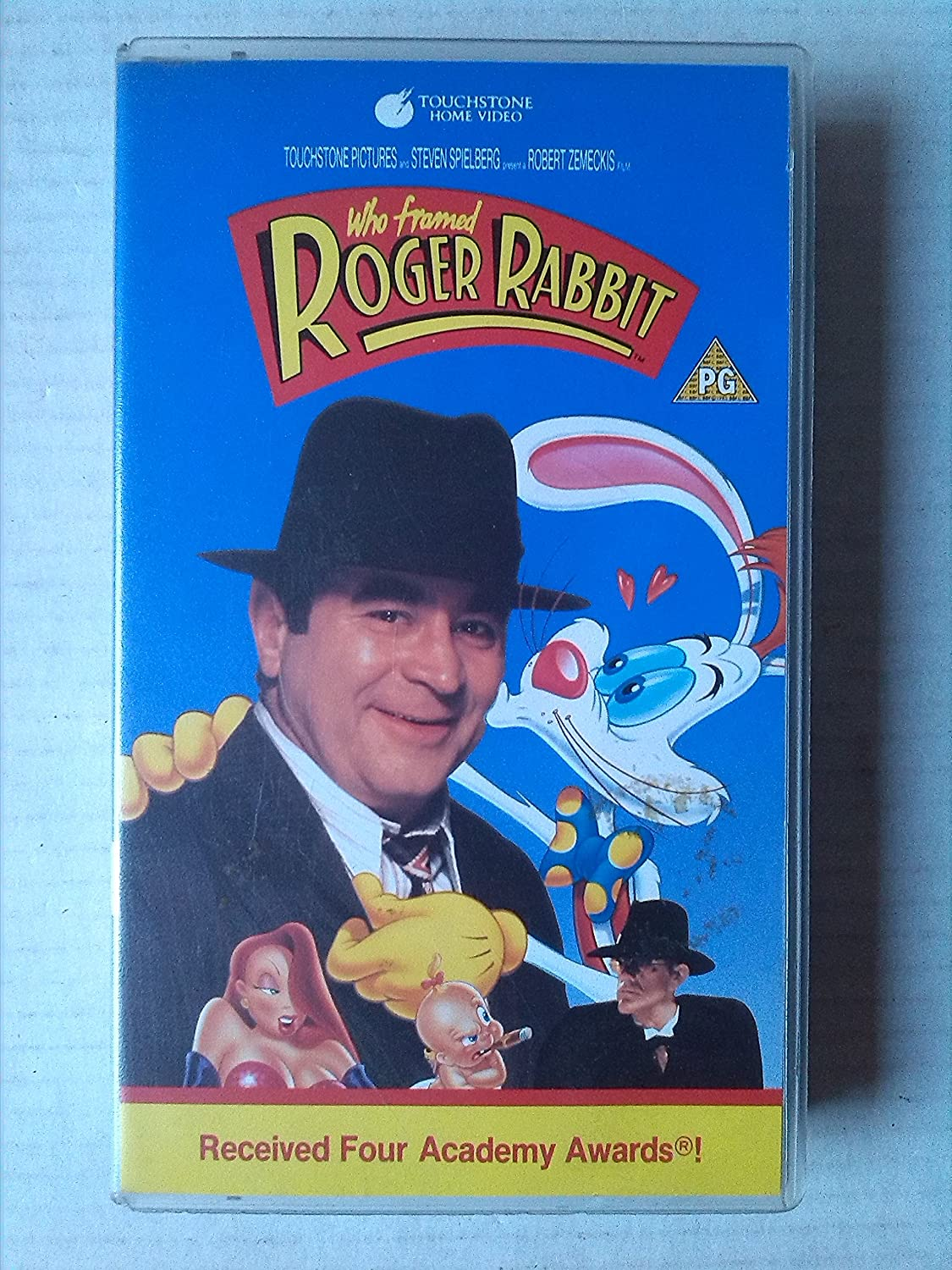 Who Framed Roger Rabbit [VHS] [1988]: Bob Hoskins, Christopher Lloyd ...