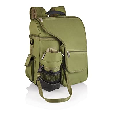 ONIVA - a Picnic Time Brand Turismo Insulated Backpack Cooler, Olive : Backpack With Insulated Compartment : Sports & Outdoors