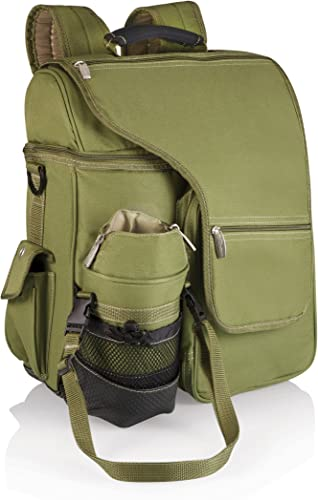 ONIVA – a Picnic Time Brand Turismo Insulated Backpack Cooler, Olive