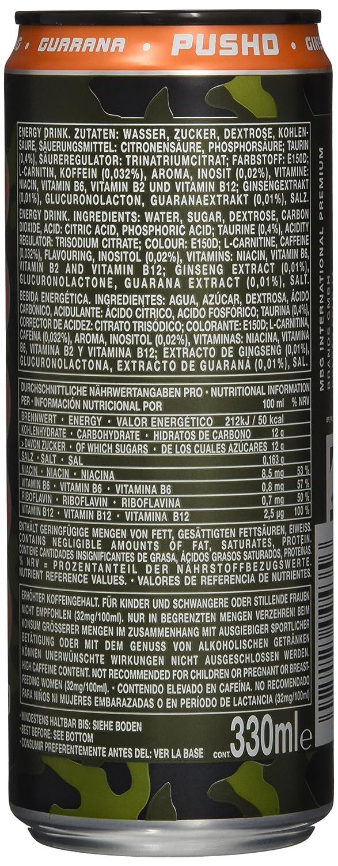 effect Pushd, 12er Pack (12 x 330 ml): Amazon.de: Lebensmittel ...