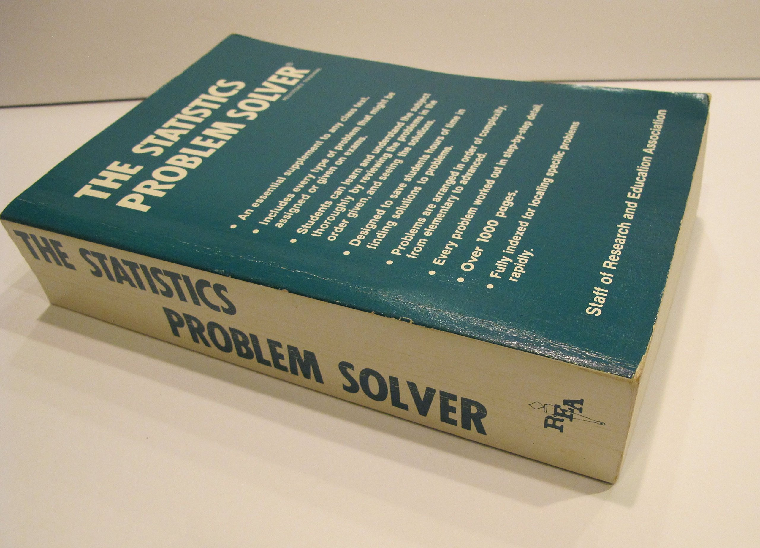 the statistics problem solver m dr director staff of  the statistics problem solver m dr director staff of research and education association fogiel com books