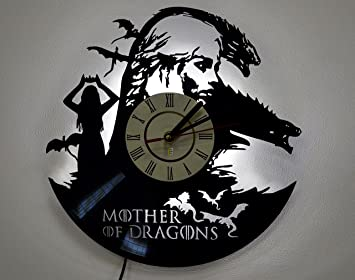 Game Of Thrones Mother Of Dragons Wall Lamp Shade, Night Light Function,  Perfect Gift