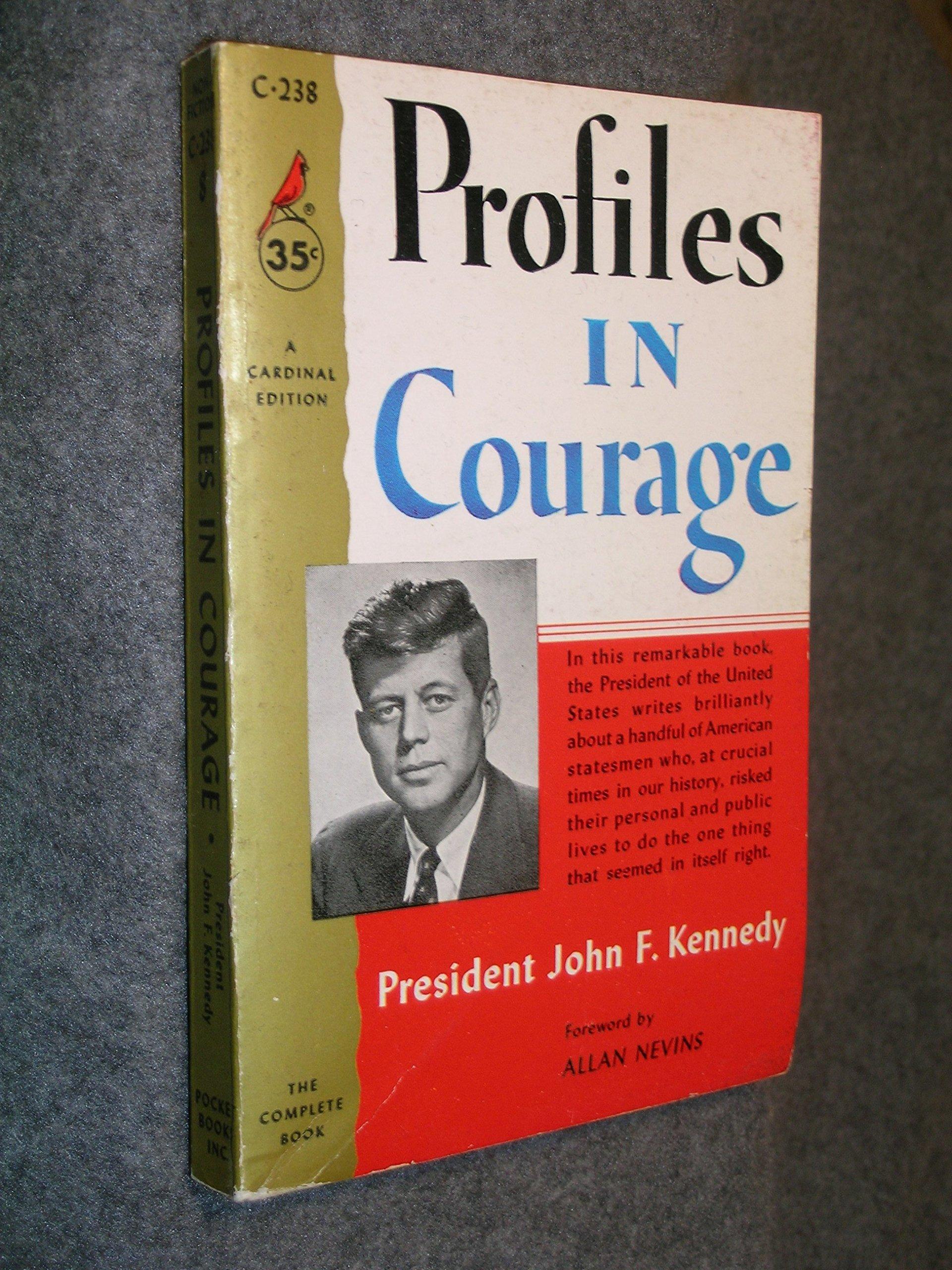 jfk political courage