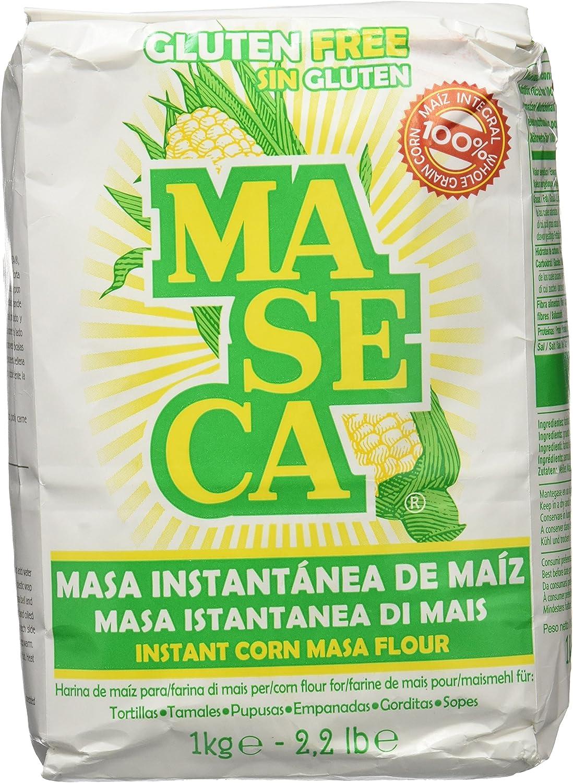 Maseca Harina de Maíz - 5 Paquetes de 1 kg - Total: 5 kg: Amazon ...