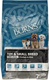Burns Pet Nutrition Original Complete Dry Adult Toy and Small Breed Dog Food Chicken, 6 kg
