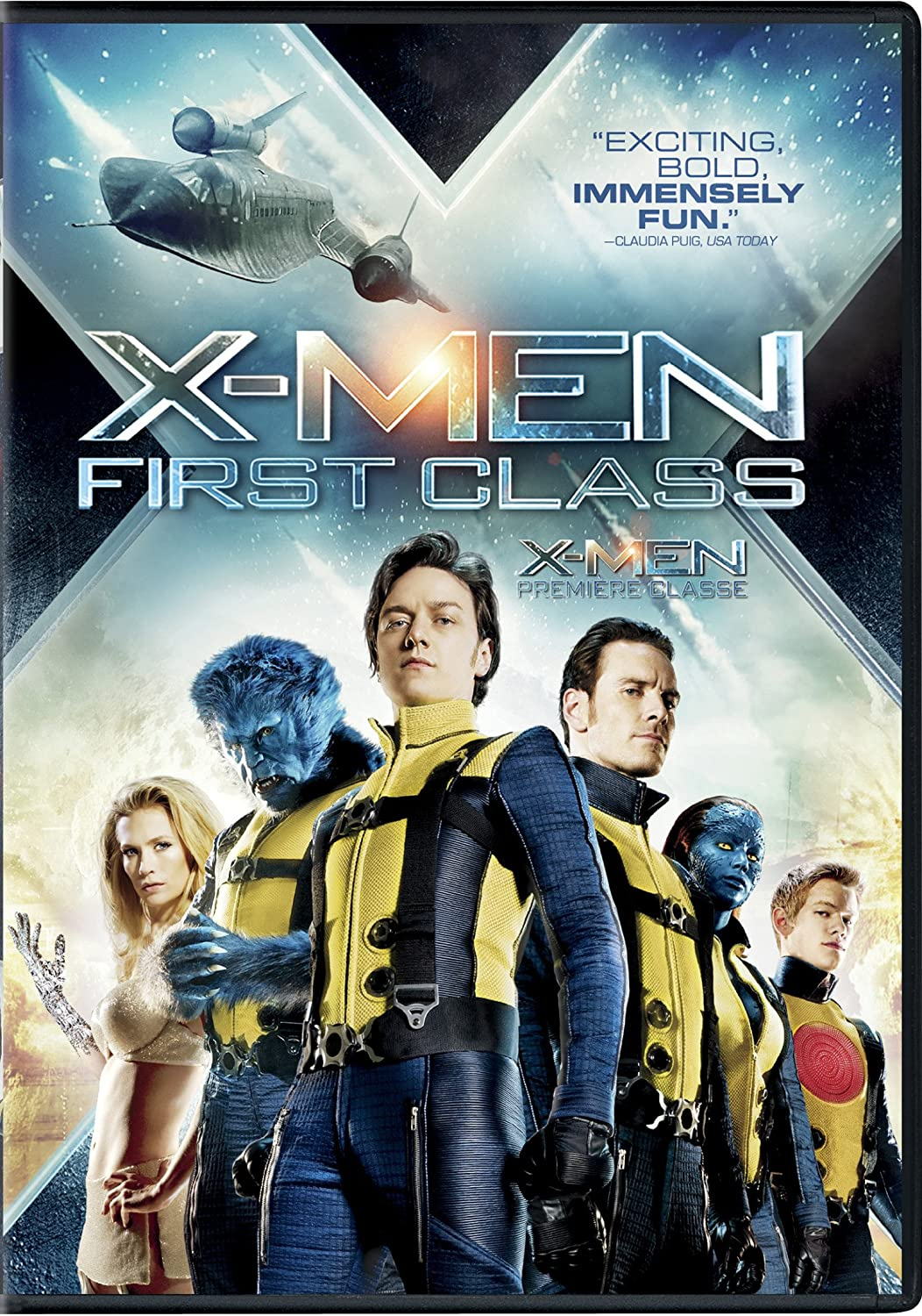 Amazon Com X Men First Class James Mcavoy Michael Fassbender Jennifer Lawrence Kevin Bacon Laurence Belcher Bill Milner Rose Byrne Beth Goddard Morgan Lily Oliver Platt Alex Gonzalez Jason Flemyng Matthew Vaughn Adam