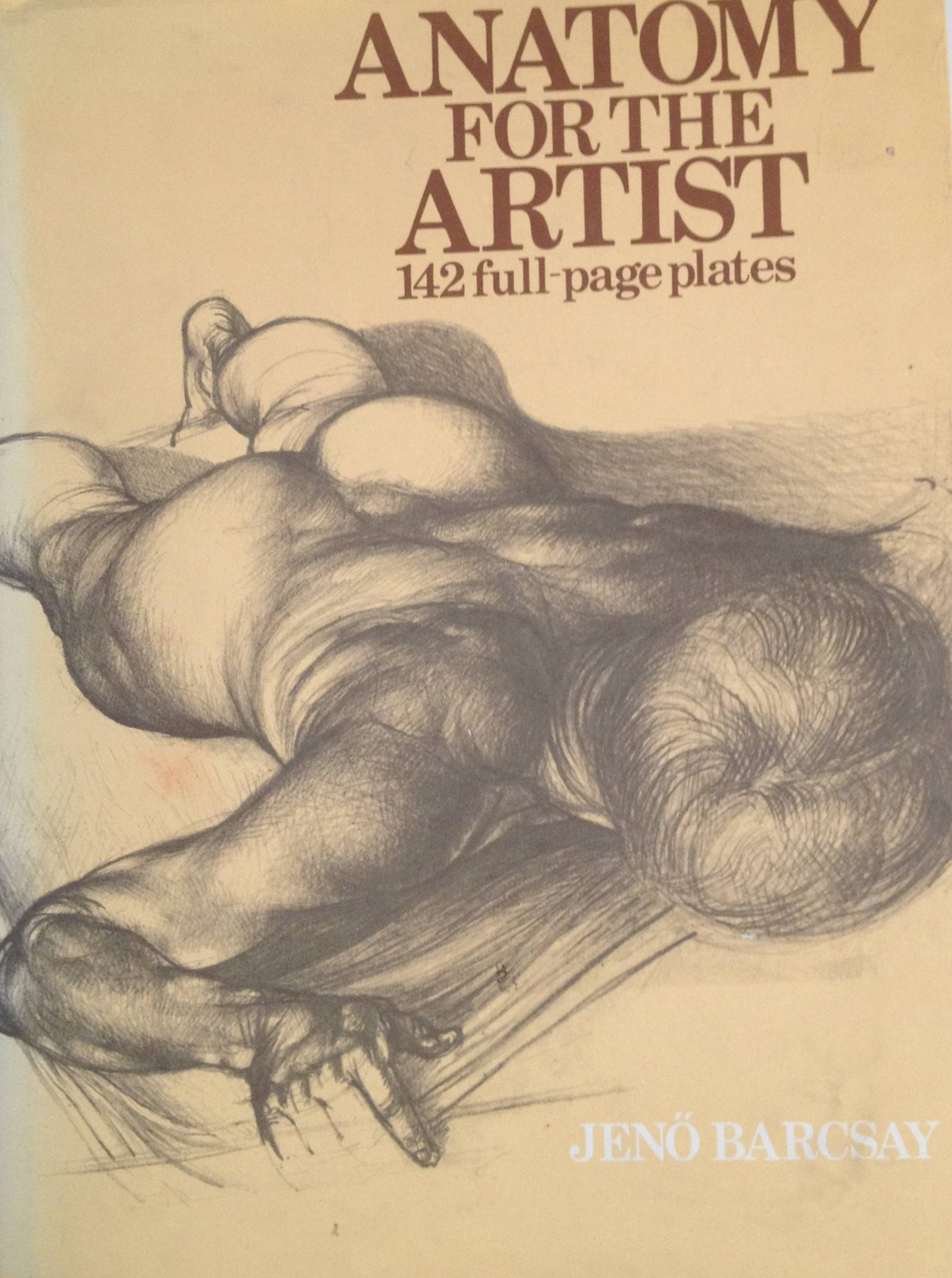 Anatomy For The Artist Jeno Barcsay 9781566192453 Amazon Books