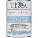 Meliora Cleaning Products, Laundry Powder, Unscented, 128 HE (64 Standard) Loads