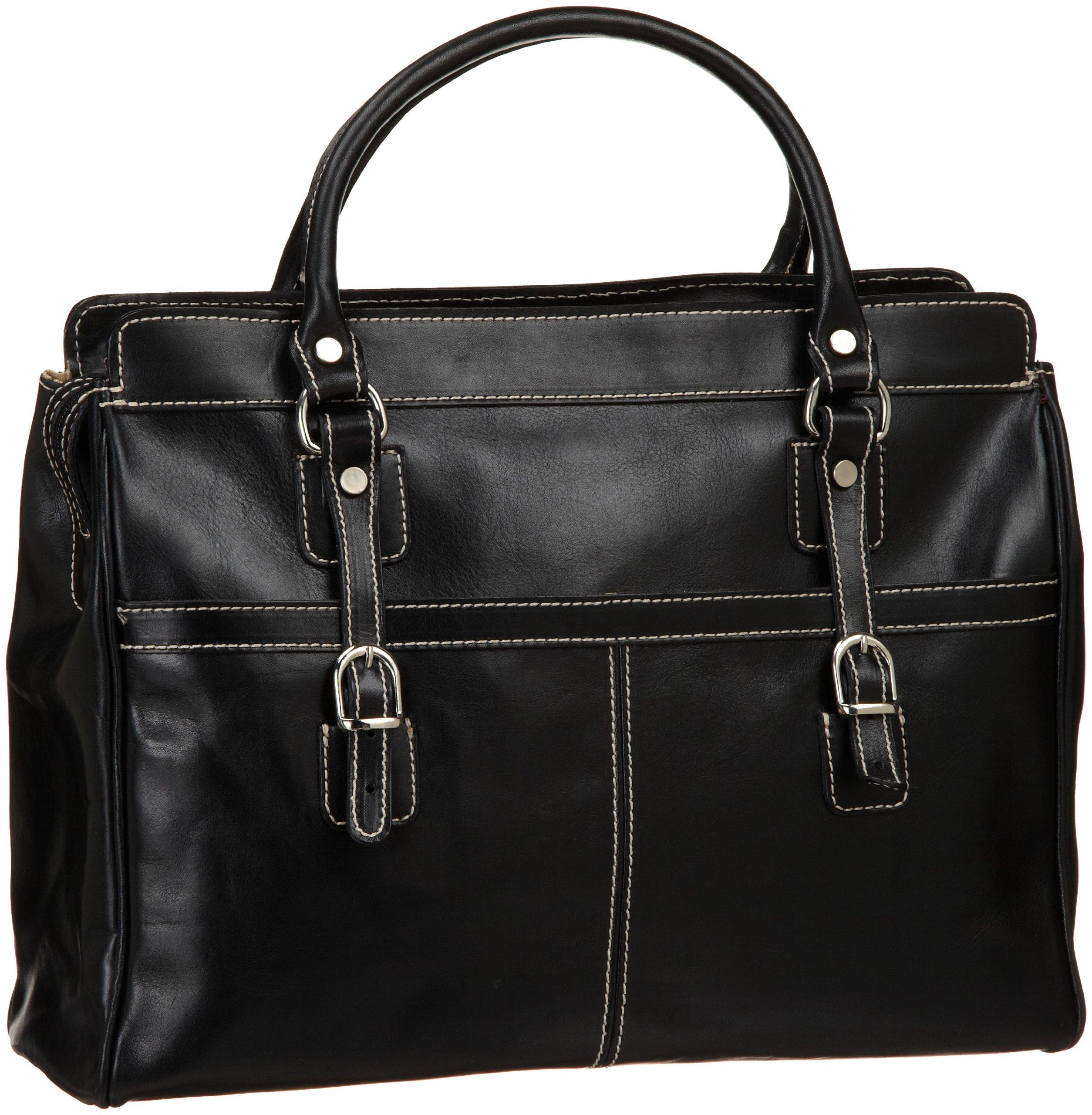 Floto Casiana Mini Handbag, Black, One Size
