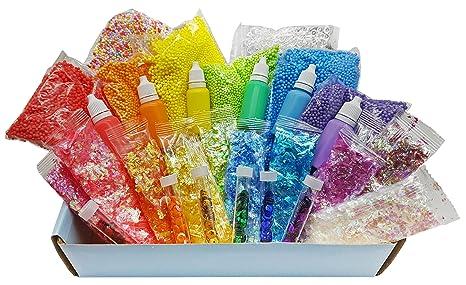 5e4e6102b763 Original Stationery Slime Supplies Stuff [Rainbow Kit add ins ...