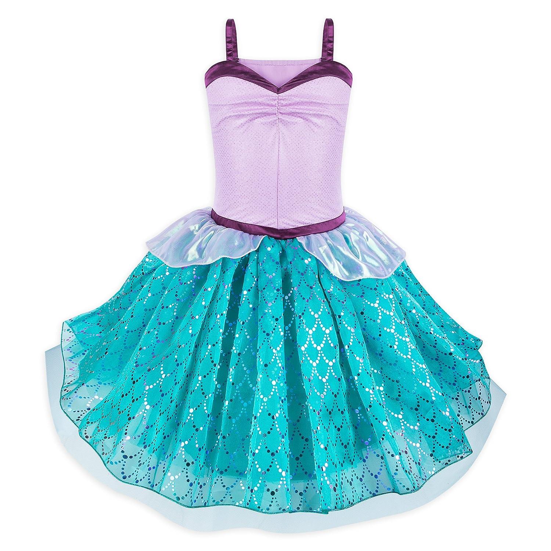8be8d9c9b5c Amazon.com  Disney Ariel Tutu Costume Dress for Juniors - The Little Mermaid  Multi  Clothing