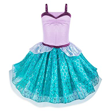 610bcf1695c Amazon.com  Disney Ariel Tutu Costume Dress for Juniors - The Little Mermaid  Multi  Clothing