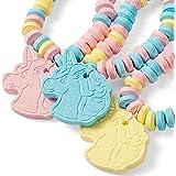 Unicorn Candy Bracelet - Unicorn Party Favors - 12 Count