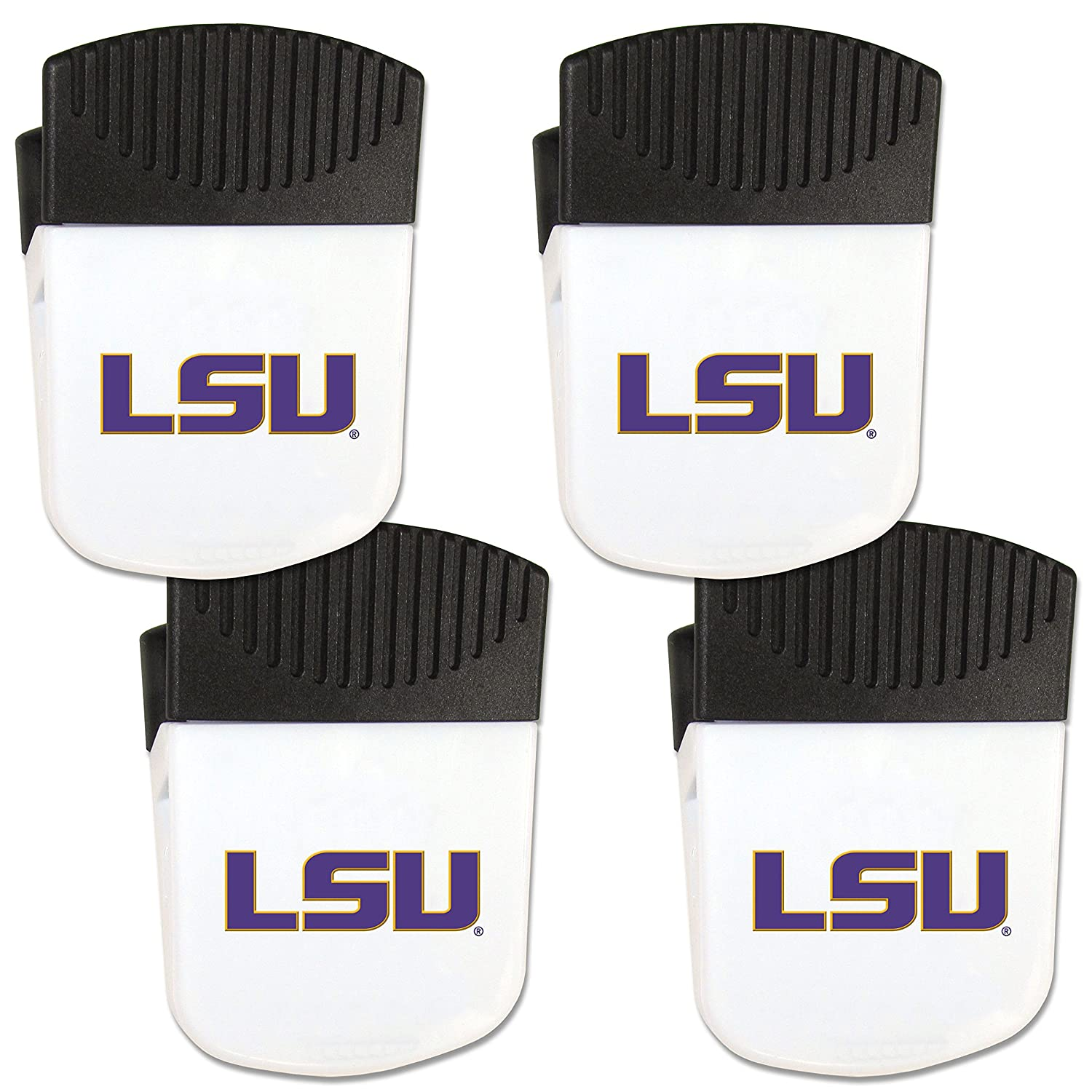 Siskiyou NCAA Unisex Chip Clip Magnet with Bottle Opener 4 Pack Siskiyou Gifts Co Inc 4CPMC4-P