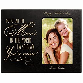 Amazoncom Lifesong Milestones Personalized Mothers Day Picture