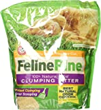 Feline Pine Clumping Litter for Cats, 8 lbs