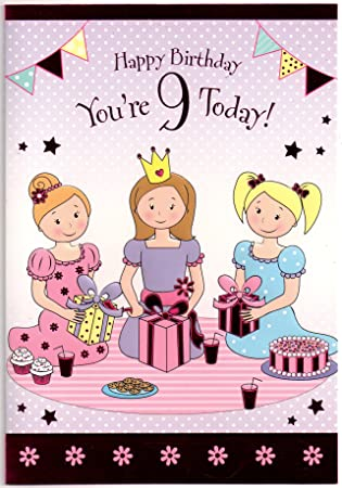 Best Birthday Cards For 9 Year Girl Image Collection