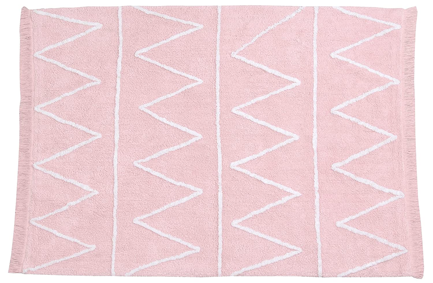 Lorena Canals Hippy Soft Washable Rug (Pink) Hippy Soft Pink C-HY-P