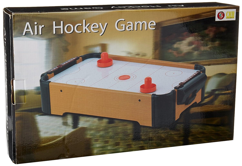 CHH 9052S Air Hockey Game Set, 21-Inch, Mini Flat River Group